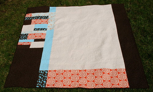 Block Party Quilt - Back