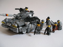 Raptor-2 and Dritte Sturm Gruppe (Andreas) Tags: germany tank lego raptor drpa