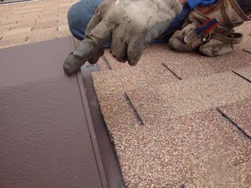 roof vent repair- leak in roof vent
