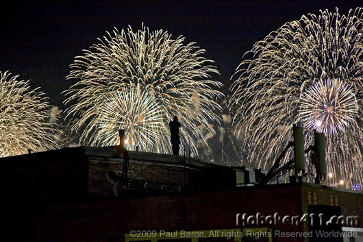 Hoboken Macys Fireworks Reader Photo Paul Baron