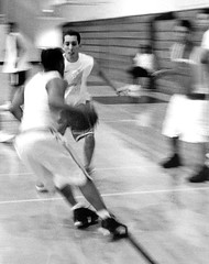 (J Kane) Tags: blackandwhite basketball sport action gym