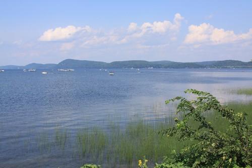 Lake Champlain, Vermont.