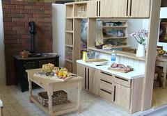 Kitchen and Dining Room (PetitPlat - Stephanie Kilgast) Tags: kitchen miniatures diningroom dollhouse miniaturen oneinchscale