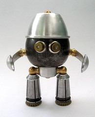 Similac (adopt-a-bot) Tags: old fiction sculpture art coffee monster collage metal modern trash vintage toy found toys tin design robot mixed garbage junk aluminum media artist technology tech transformer recycled folk outsider antique assemblage steel object space character brian fine cartoon nuts craft science retro marshall teapot bolts fi recycle creature brass robotics sculptures sci bot reuse steampunk reduce reused