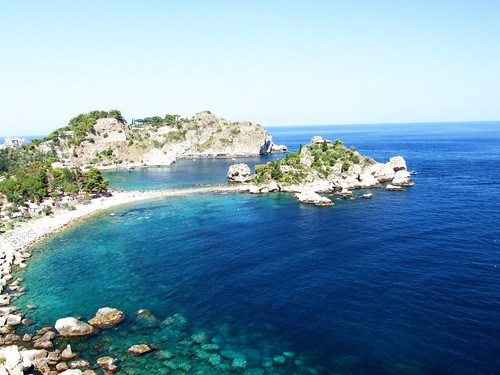 Isola Bella-Taormina-Messina-Sicilia-Italy - Creative Commons by gnuckx, en Flickr