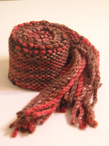 Second handwoven scarf