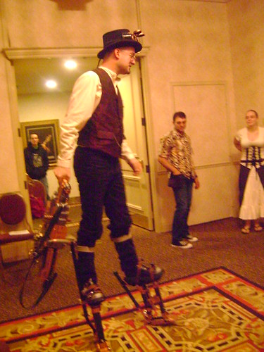 Steampunk Stilts by jessicamieko from Flickr