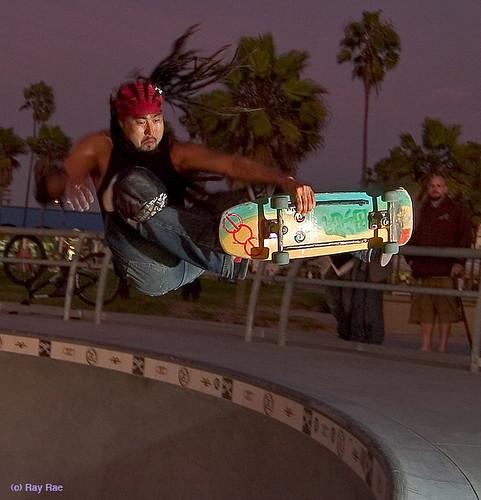 Bennett Harada Venice Skate Park