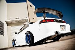 1997 Nissan 240sx (Zack Hughes) Tags: white work photography nikon nissan fast turbo zack rims hughes 97 offset drift 240sx kouki sr20det sr20 d80 hellaflush canibeat