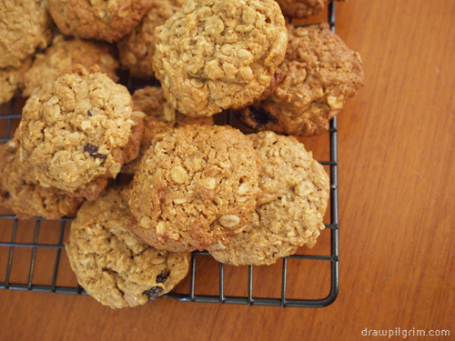 7by7: ANZAC cookies