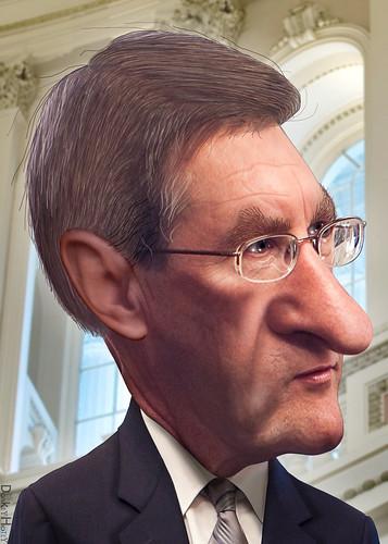Kent Conrad - Caricature