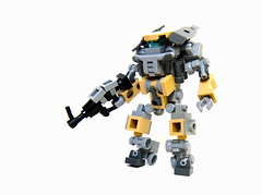EDOD Drone 0.5 (Cam M.) Tags: robot cool gun lego awesome epic mecha mech drone purist