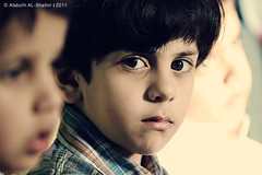 Fahad (Abdullh AL-Shthri  ) Tags: light portrait beautiful its canon children lens photography child faces smiley riyadh highlight 70200 astonishment