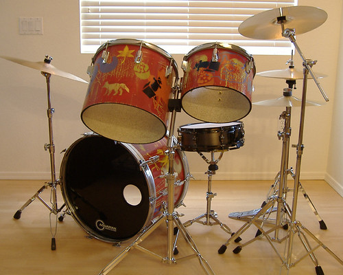 Wasteland Circus Drum Set