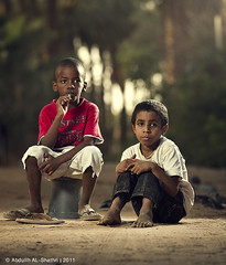 :: Purity of Childhood :: -  Explore (Abdullh AL-Shthri  ) Tags: life street portrait childhood canon garden children wizard farm peoples explore 7d innocence lives 28 pocket 70200 spontaneous purity