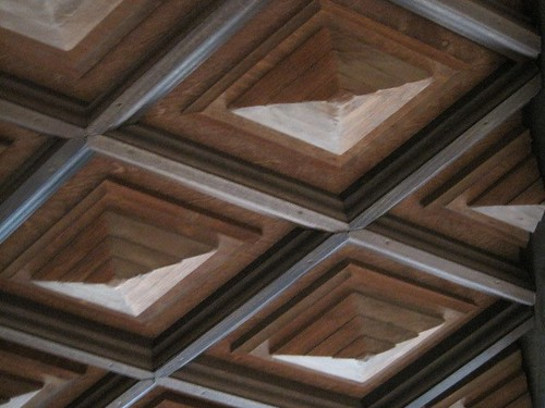 Concert Hall at Round Top Festival Institute: ceiling detail