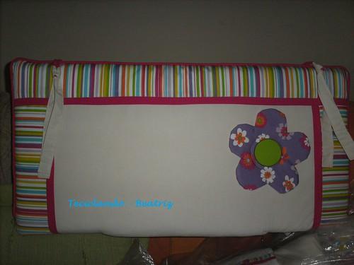 Protetor de Berço - cabeceira by Teciclando artes em tecidos