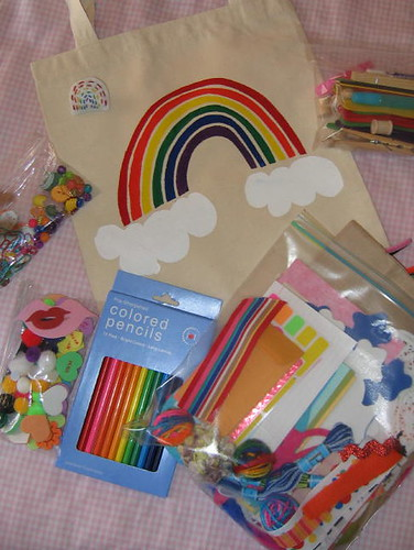 Rainbow Birthday Party Gift