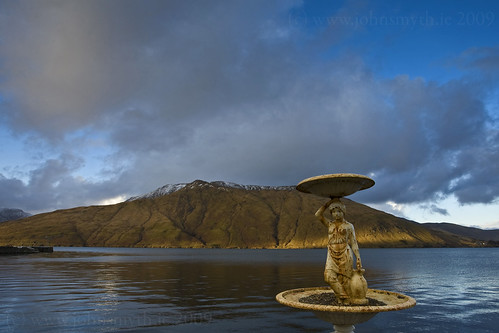 Lady of the Lake in Leenane