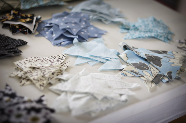 how to make easy fabric bunting