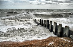 I could watch for ever! (larigan.) Tags: uk sea england beach waves unitedkingdom pebbles groyne breakwater bexhill blueribbonwinner heavenandearth platinumphoto coastuk larigan phamilton betterthangood welcomeuk licensedwithgettyimages