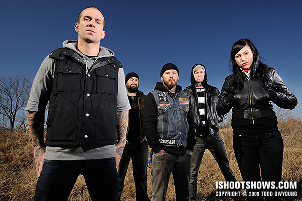 Bleeding Through - Promo Shoot