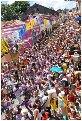 Cidade preparada para receber os milhares de foliões que a visitam anualmente - Foto: Passarinho/Pref.Olinda