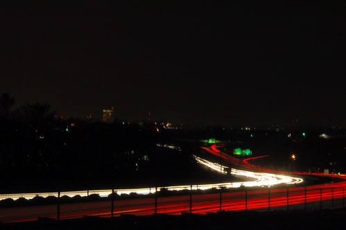I-385 Light Trails