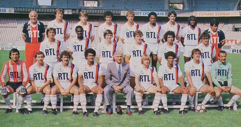 paris saint-germain 1983-84