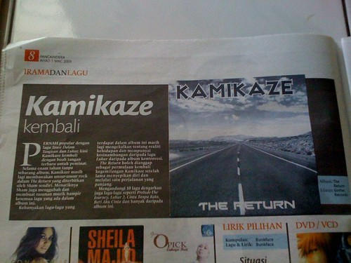Kamikaze - The Return