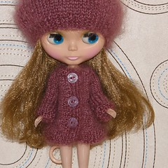 Mohair Cargigan and Beret