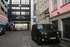 Estonia, Tallinn, Architecture, (j_silla) Tags: street old city winter urban inspiration snow streets architecture modern canon buildings eos idea town construction europe tallinn estonia day solstice restoration hummer ideas clever talv 450d