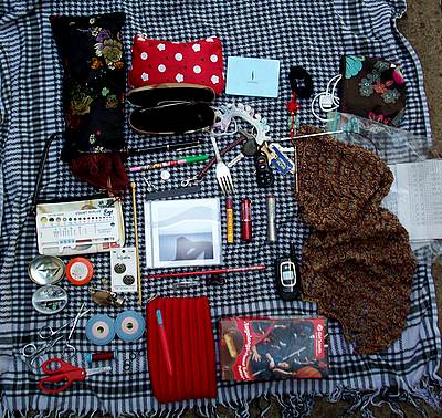 What's in my knitting bag