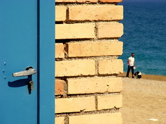 freedom (raffaphoto) Tags: blue sea seascape beach wall colours altrove marcelli