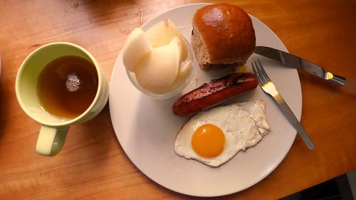 雙人早餐一人前