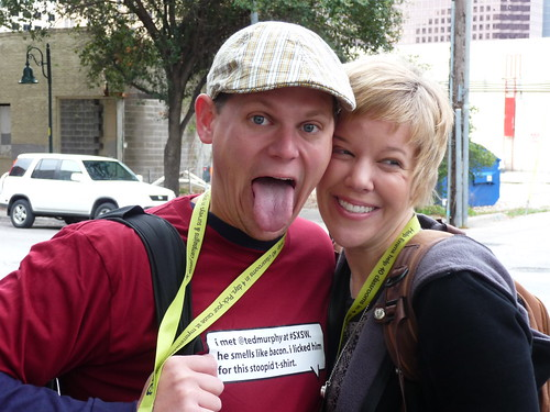 Ted Murphy & Chrissie Brodigan at SXSW '09