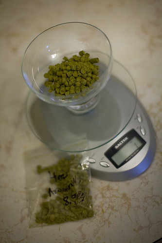 1 ounce amarillo hops