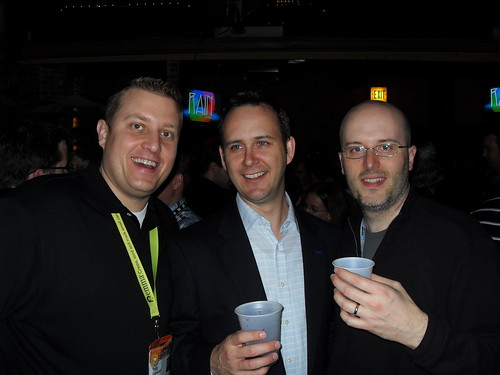 Todd Earwood, Scott Monty and me