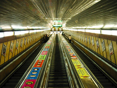 (-12C) Tags: 2003 canon hungary escalator budapest pointandshoot 3x4 ixy300