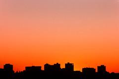 Toronto Skyline (josullivan.59) Tags: travel sunset orange toronto canada skyline architecture kodachrometoronto