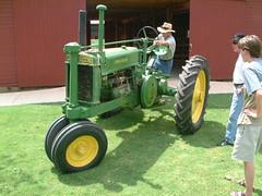 tractor oklahoma john antique deere