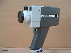 Achat du jour : camra Super 8 ZENOMATIC Z-20 (Limousin 33) Tags: camera cinema movie super8 camra cinma zeno z80 moviecamera zenor zenomatic