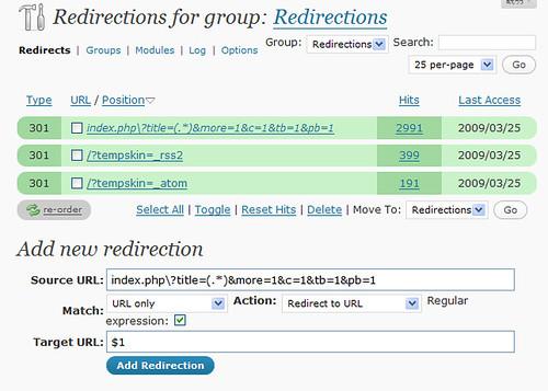 wordpress_plugin_redirection-screenshot