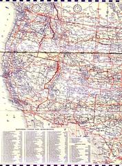 1934 Highway Map (Jasperdo) Tags: louisiana map 1934 roadmap westernunitedstates panamgasoline panamericanpetroleum hmgoushacompany 1934highwaymap