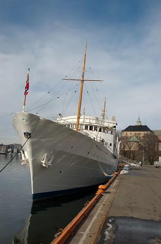 Kongeskipet Norge ved Vippetangen