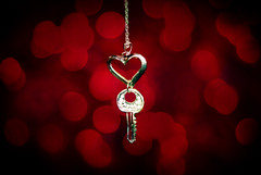 You stole my heart, and yet I'm giving you the key...You just cannot explain LOVE! (Stephen.James) Tags: red cute love me silver key heart you maroon romance chain aw stole