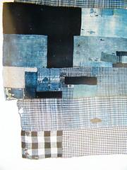 antique kimono reduced2B (Neville Trickett) Tags: japan stitch antique indigo craft sew fabric kimono textiles patchwork