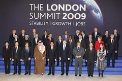 Foto familia G20 Londres