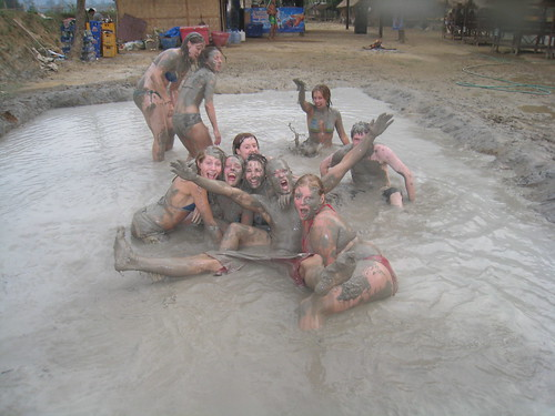 Mudwrestling!