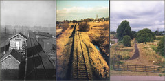 From_Doxey_bridge_past_present (fonsdejong) Tags: bridge railway present past stafford uttoxeter doxey